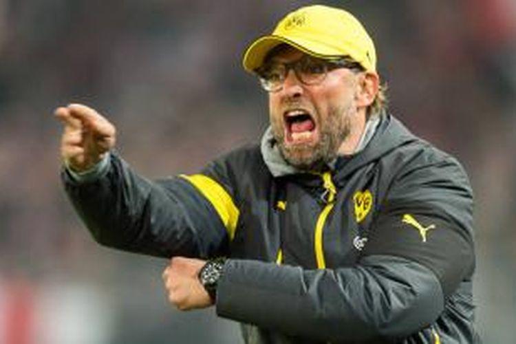Pelatih Bourssia Dortmund, Juergen Klopp.