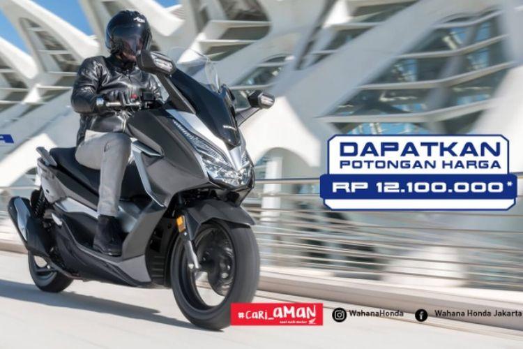 Honda Forza 250 diskon Rp 12,1 di awal tahun 2021