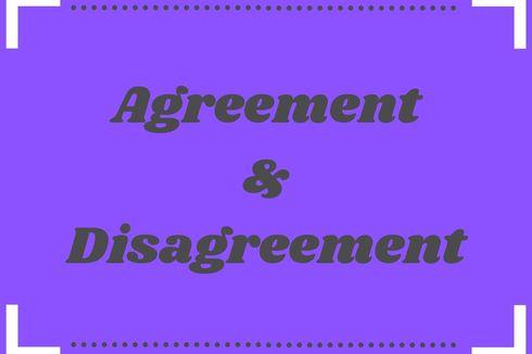 Contoh Dialog Agreement dan Disagreement
