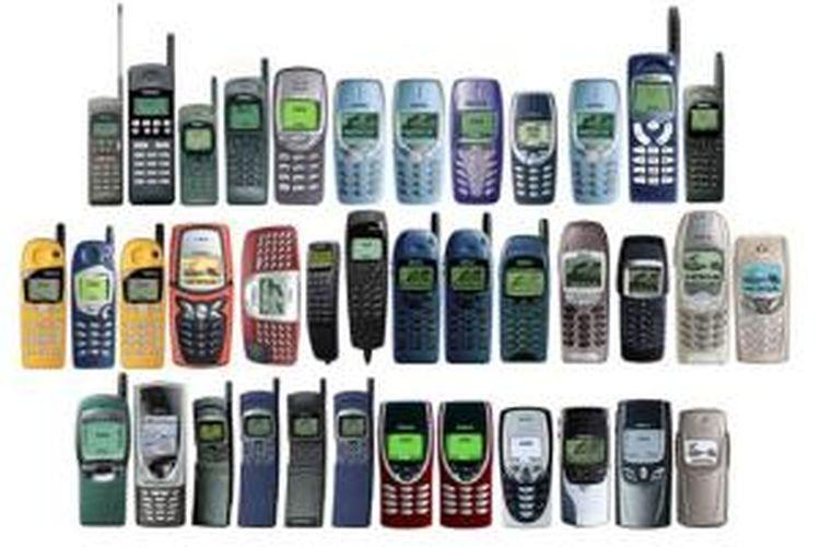 Deretan ponsel Nokia yang menarik banyak perhatiancdi masanya.