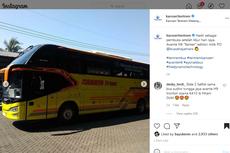 Bus Baru PO Cahaya Trans, Pakai Avante H8 Spesial
