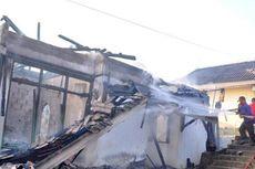 Rumah Dinas Dosen Akademi Gizi Kendari Ludes Terbakar