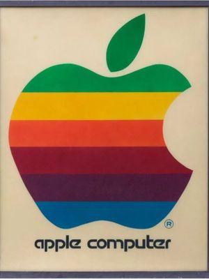 Logo Apple pertama yang akan dilelang hingga jutaan rupiah