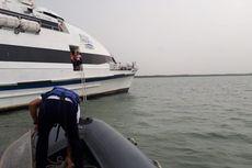 Kapal Singapura Berisi WNA dari Berbagai Negara Kandas di Perairan Lobam Bintan