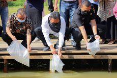Menteri Trenggono Dorong Pemkab Limapuluh Kota Budidayakan Ikan Gurami BIMA