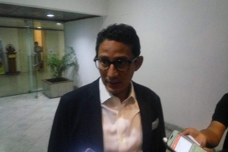 Wakil Gubernur DKI Jakarta Sandiaga Uno.