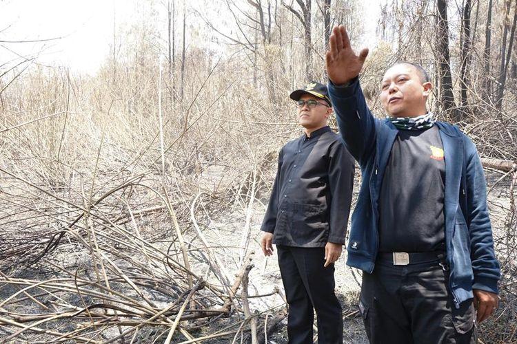Kebakaran di Gunung Ijen, Bupati Anas Minta BNPB Kerahkan Heli Water Bombing