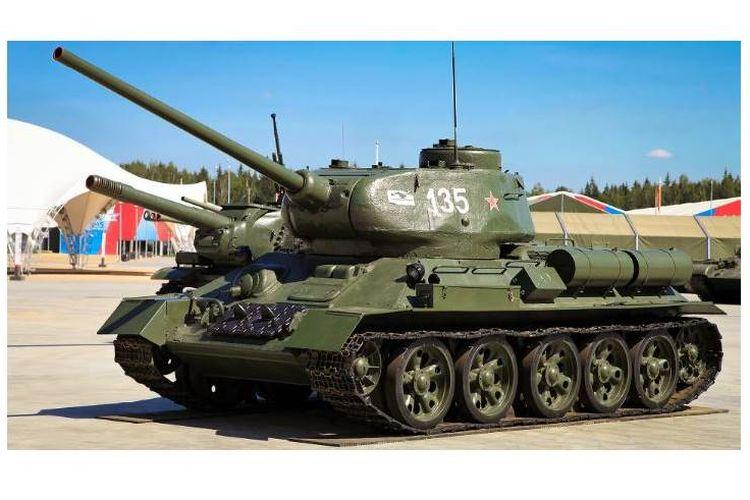 Tank T-34 dan T-72
