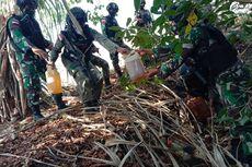 TNI-Polri Gagalkan Penyelundupan BBM di Perbatasan Indonesia-Timor Leste