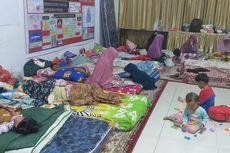 Korban Kabut Asap Pekanbaru Terus Berdatangan ke Posko Pengungsian