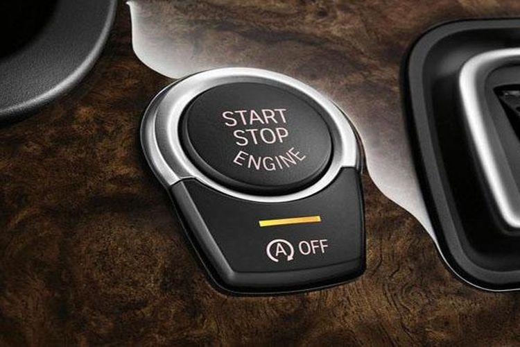 Ilustrasi fitur automatic engine start-stop.