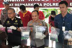 1.890 Butir Ekstasi dan 3,1 Kg Sabu Asal Malaysia Gagal Diedarkan ke Sulawesi dan Jakarta