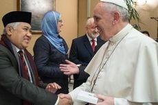 Ketua Umum MUI Kirim Pesan Damai dari Vatikan