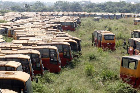 300 Bus Transjakarta yang Terbengkalai di Bogor Akan Dilelang