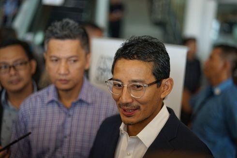 Respons Sandiaga Saat Diisyaratkan Jokowi Menang pada Pilpres 2024