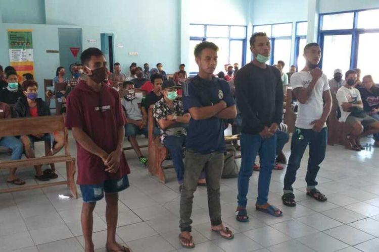 75 warga NTT masih tertahan di Pelabuhan Lembar, Kabupaten Lombok Barat, NTB, hingga Senin (20/4/2020).
