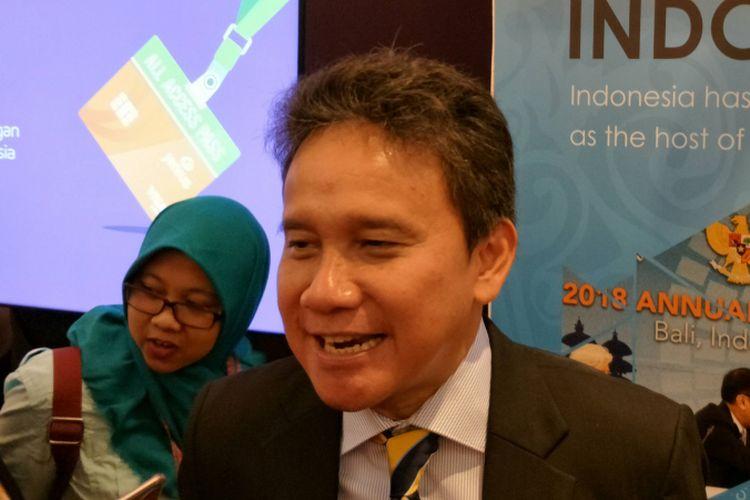 Deputi Gubernur Senior Bank Indonesia (BI) Mirza Adityaswara