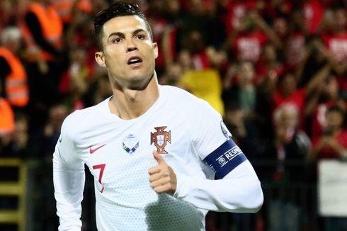 Jawab Tantangan Keane, Ronaldo Top Skor Kualifikasi Piala Eropa