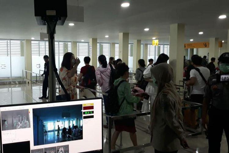 Kantor Kesehatan Pelabuhan (KKP) Kelas II Tanjungpinang menyiagakan petugas dan empat thermal scanner mencegah virus Corona masuk ke Tanjungpinang dan Bintan.
