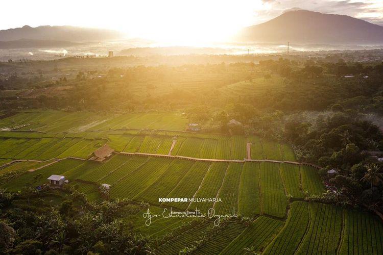 Tempat wisata bernama Kampung Tematik Mulyaharja di Kota Bogor, Jawa Barat (dok. Kampung Tematik Mulyaharja).