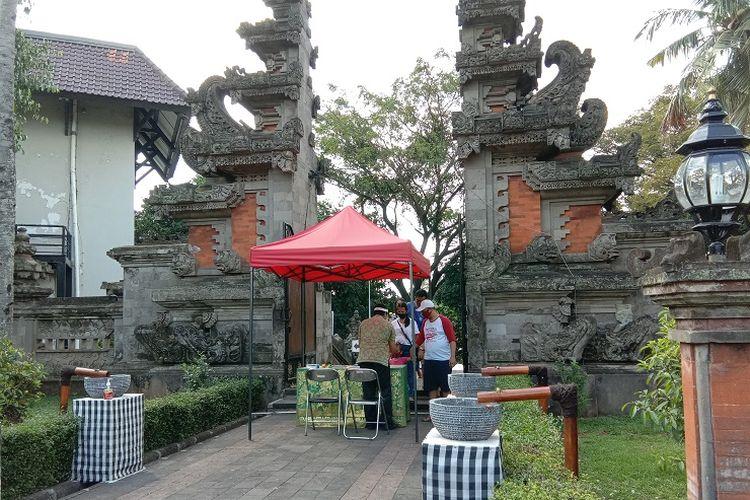 Anjungan Bali di Taman Mini Indonesia Indah (TMII), Minggu (5/7/2020).
