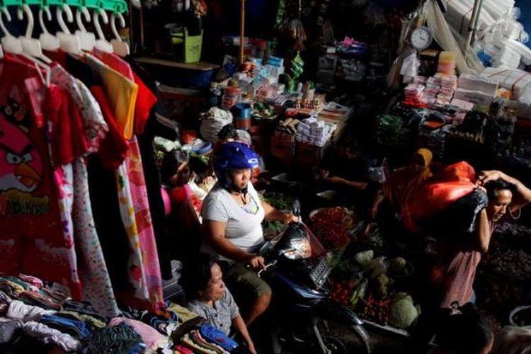 Ilustrasi pasar tradisional