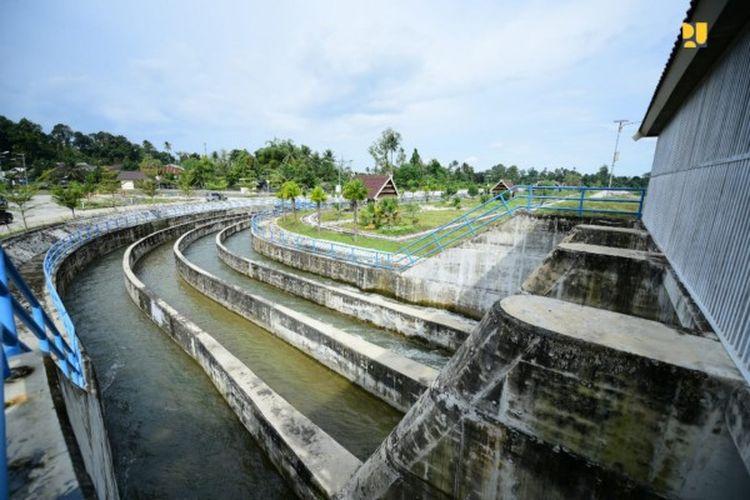 Jaringan Irigasi Baliase, Kabupaten Luwu Utara, Provinsi Sulawesi Selatan (Sulsel).