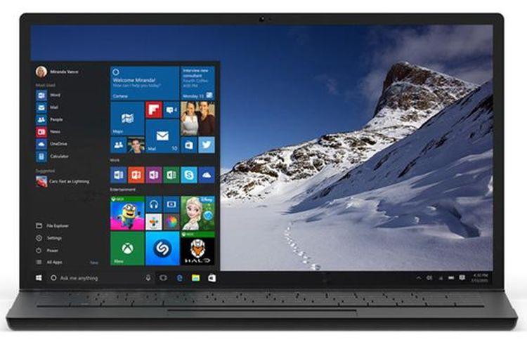 Ilustrasi Windows 10