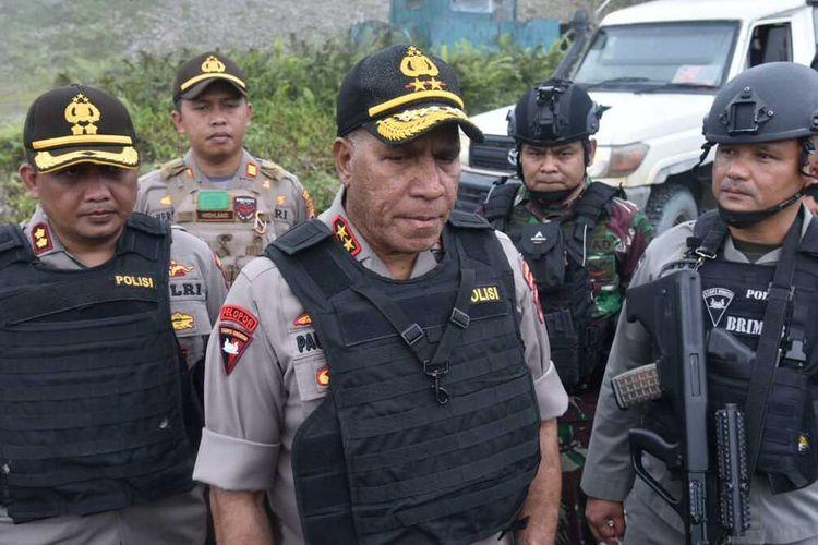 Kapolda Papua Irjen Polisi Paulus Waterpapuw.