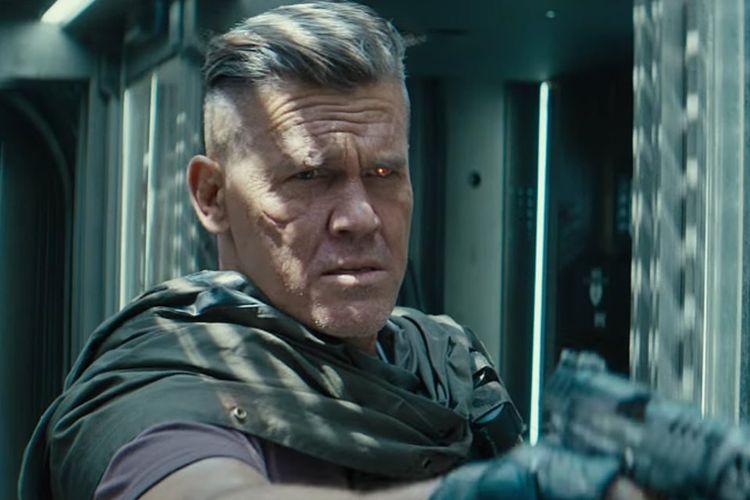 Josh Brolin dalam film  Deadpool 2.