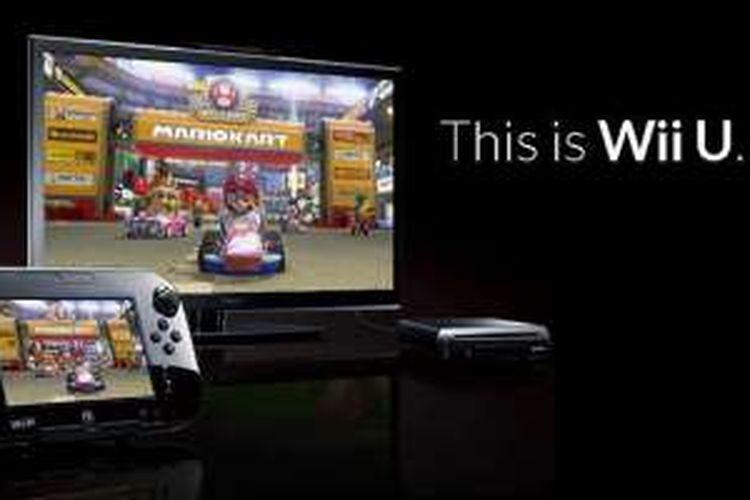 Ilustrasi konsol game Nintendo Wii U