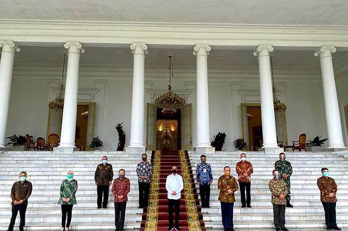 Bertemu Lemhannas, Jokowi Terima Masukan soal Mewujudkan Ketahanan Pangan