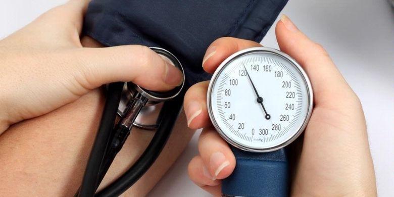 Ilustrasi pengukuran tekanan darah