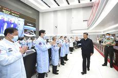 Ngobrol Langsung dengan Awak China di Luar Angkasa, Xi Jinping Puja-puji Astronotnya