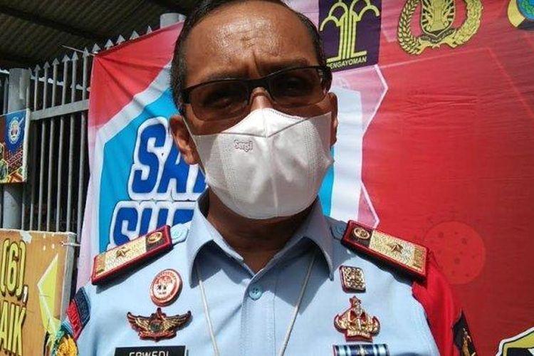 Kepala Lembaga Pemasyarakatan (Kalapas) Klas 1A Tanjung Gusta Medan, Erwedi Supriyatno
