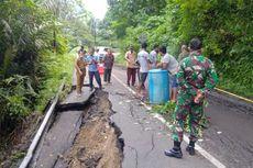Jalan Kelok 44 Agam Ambles, Bupati Agam Berharap Jalur Alternatif Jadi Jalan Nasional