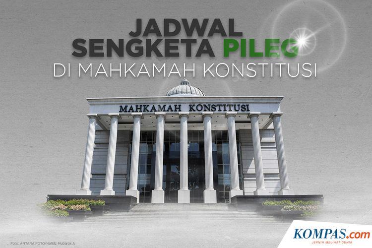 Jadwal Sengketa Pileg di Mahkamah Konstitusi