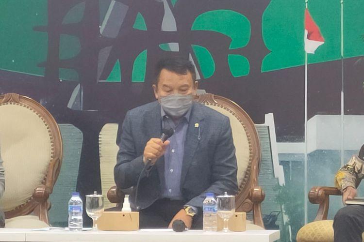 Anggota Komisi I DPR dari Fraksi PDI-P TB Hasanuddin