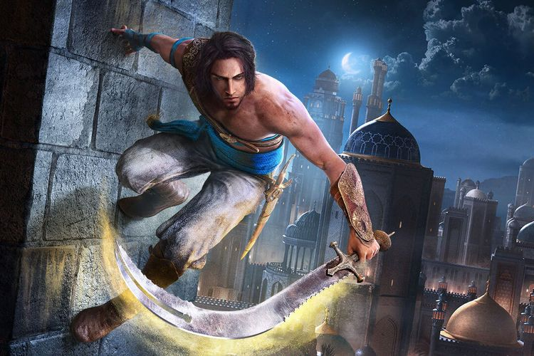 Ilustrasi game Prince of Persia The Sands of Time Remake