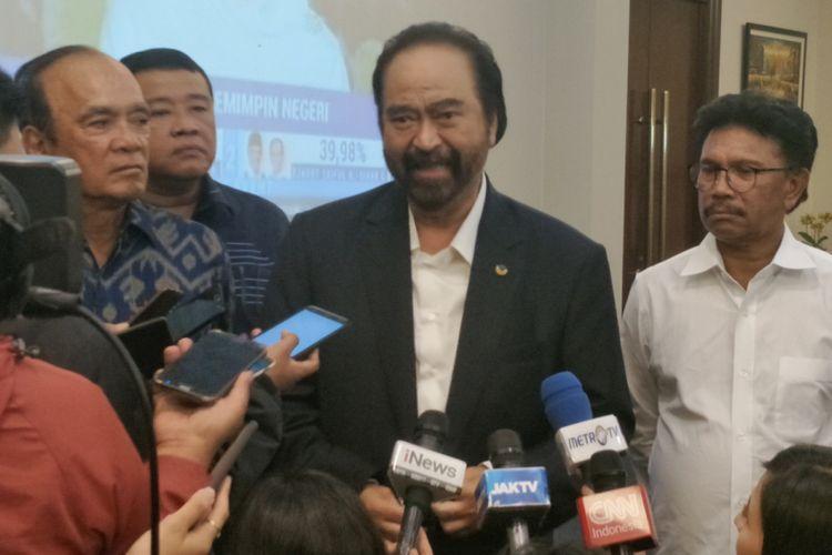 Alasan Surya Paloh Larang Menteri Dari Nasdem Nyaleg