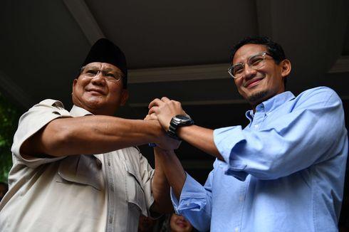 Sandiaga: Kalau Saya dan Pak Prabowo Masih Didengar, Kami Tempuh Jalur Konstitusional
