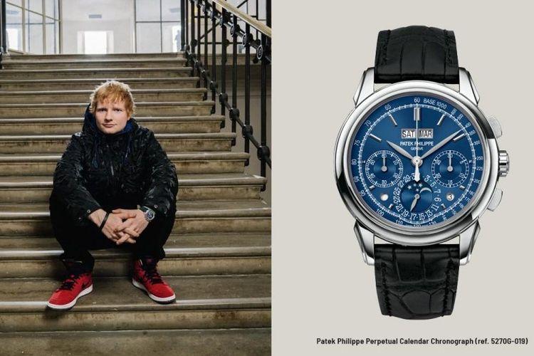 Ed Sheeran dan jam tangan Patek Philippe