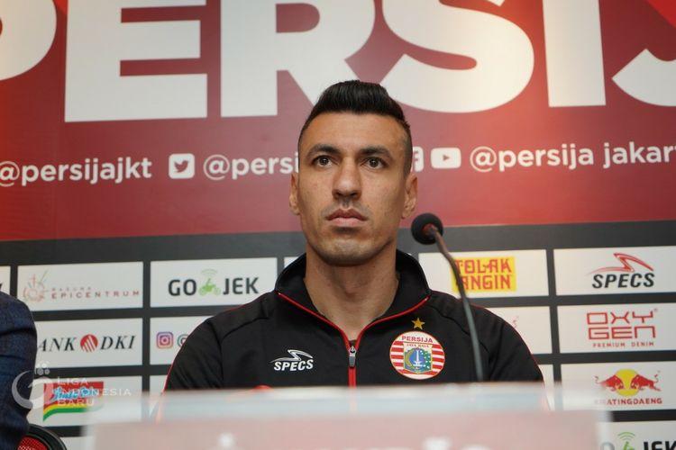 Rekrutan anyar Persija Jakarta, Alexandre Luiz Reame.