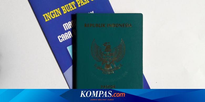 Ganti Paspor Biasa Ke Elektronik Bagaimana Caranya Halaman All Kompas Com