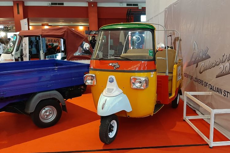 Piaggio Commercial Vehicle hadir di IIMS 2021
