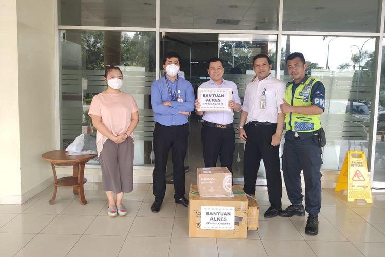 Bantuan APD dari SKK Migas dan KKKS untuk berbagai instansi kesehatan