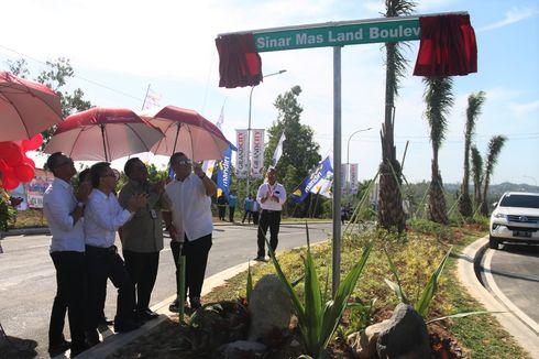 Urai Kemacetan di Balikpapan, Jalan Sinar Mas Land Boulevard Resmi Dibuka