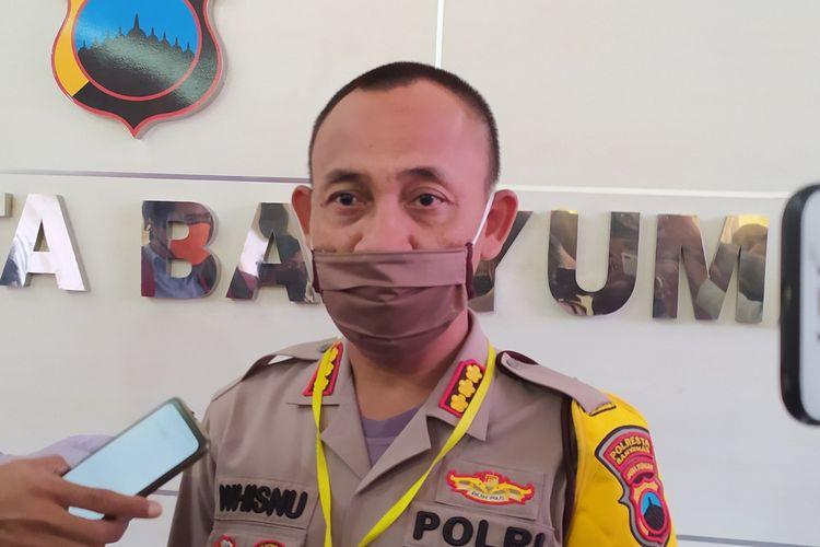 Kapolresta Banyumas Kombes Whisnu Caraka