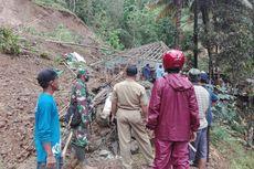 Longsor Rusak Tiga Rumah di Desa Kalirejo Kulon Progo