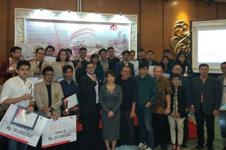 Para pemenang Sinar Mas Land Young Architect Competition 2017